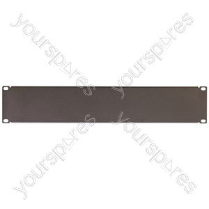 "Eagle 19"" Steel Blank Panel - Size 2U"