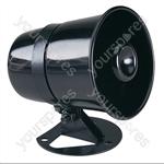Plastic Horn Speaker With Adjustable Bracket 8W