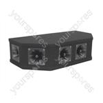 Soundlab 50W Black Piezo Top Box