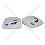 White Hands-free 3 Channel Wireless Intercom