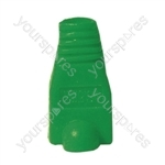 RJ45 Rubber Boot - Colour Green