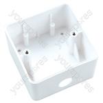 Eagle Surface Mount Attenuator Back Box White