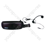 Eagle Waistband Amplifier With Headband Microphone 5W - Colour df
