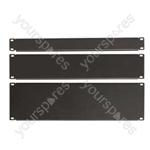 "Eagle 19"" Steel Blank Panel - Size 3U"