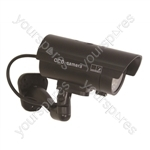 Eagle LED Dummy CCTV Camera with CCTV Sign