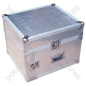 Full Flight Rack Case with 10U Mixer Top - Rack Size 6U