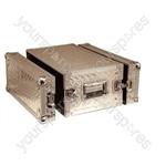 Full Flight Short Rack Case with Front/Back Doors - Rack Size 4U