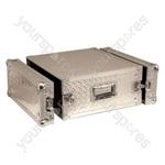 Full Flight Rack Case With Front/Back Doors - Rack Size 4U