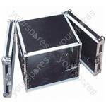 Full Flight Rack Case with Front/Back Doors - Rack Size 8U
