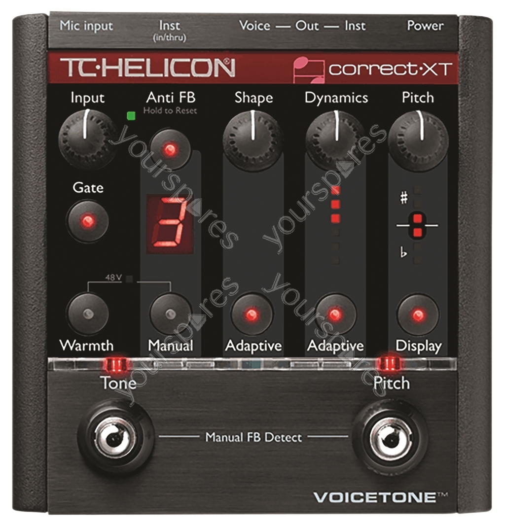 tc helicon g xt manual