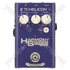 TC HELICON Harmony Stompbox