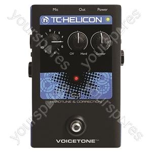 TC HELICON Voicetone C1 - Hardtune and Correction Stompbox