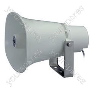 TOA SCM 100 V Line Horn Speaker - Power RMS  15