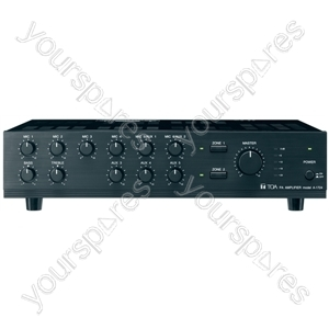 TOA A1700 Series 100 V Line Amplifiers - Power RMS (W) 240