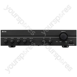 TOA A2000 Series 100 V Line Amplifiers - Power RMS (W) 60