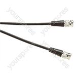 Standard BNC Plug to BNC Plug CCTV Lead