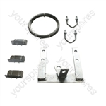 "6"" (153mm) Galvanised Chimney Lashing Kit"