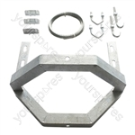 "13"" (330mm) Galvanised Single Cradle Chimney Kit"