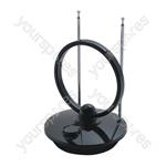 Digital DVB-T Indoor TV & Radio Antenna With Low Signal Amplifier