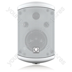 """Turbosound IMPACT TCI32-T-WH Pair of 2 Way 3.5"""" 100v Line / 16 ohm Loudspeakers (White)"""