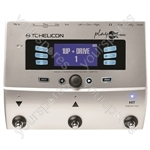 TC HELICON Play Electric Vocal FX and Guitar FX Pedal