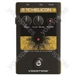 TC HELICON Voicetone T1 Adaptive Tone and Dynamics Stompbox