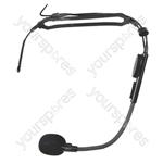 Trantec HM-33 Headworn Microphone with 3.5 mm Jack Plug