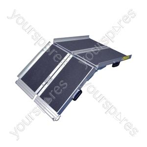 Folding Suitcase Ramp - Size 6 ft