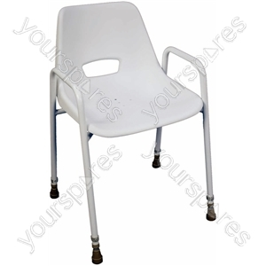 Milton Stackable Portable Shower Chair - Configuration Adjustable Height (450 - 620)