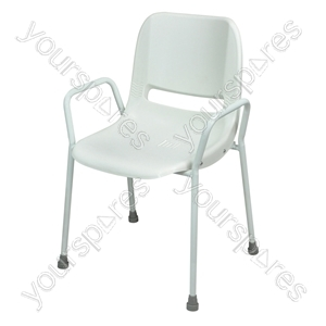 Milton Stackable Portable Shower Chair - Configuration Fixed Height