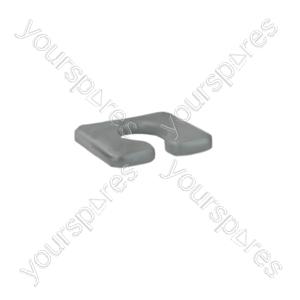 Transaqua Shower Commode Replacement Horseshoe Seat