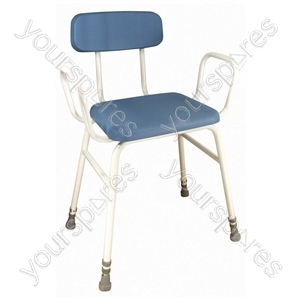 Astral Perching Stool - Configuration With Arms and Padded Back