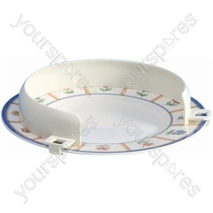 """Plastic Plate Guard - Size Size: 203 - 304 mm (8 - 12"""")"""
