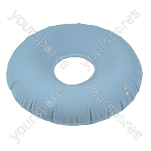 Inflatable Pressure Relief Ring Cushion - Colour Blue/Grey
