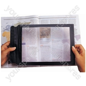 Sheet Magnifier - Product Dimensions (mm) 13.5x195x305