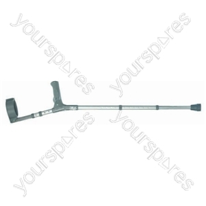 PVC Wedge handle Elbow Crutch - Size Extra Large
