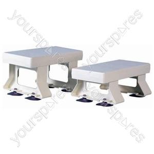 "Derby Plastic Bath Seat - Size Height: 154 mm (6"")"