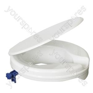"Senator Plastic Raised Toilet Seat - Size Seat Height: 50 mm (2"")"