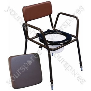Norfolk Height Adjustable Chemical Commode Chair