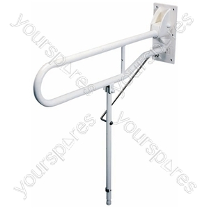 Solo Hinged Arm with Back Plate and Leg - Length (Extended) (mm) 775