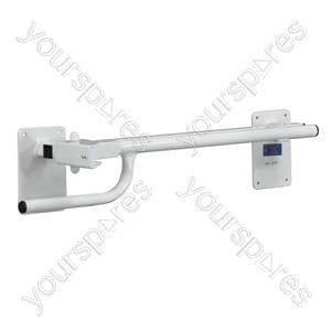 Alvin Toilet/Bed Rail - Configuration Left Handed