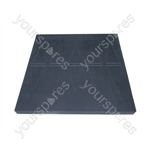 Easy Edge Threshold Rubber Ramp - Product Dimensions (mm) 60x760x750
