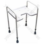 Dartford Height Adjustable Shower Chair