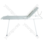 T Series Shower or Changing Stretcher - Configuration T13 Model: Padded Liner, Head Support and Drop Sides
