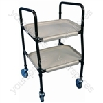Height Adjustable Strolley Trolley - Configuration Unassembled