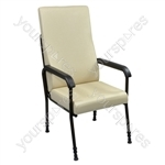 Longfield Lounge Chair - Colour Cream