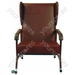 Winsham Bariatric High Back Chair - Colour Brown