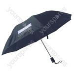 Aidapt Black Folding Pocket or Handbag Umbrella