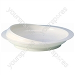 Scoop Plate - Colour White