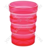 Sure Grip Mug with Cap (Small Hole) - Colour Pink